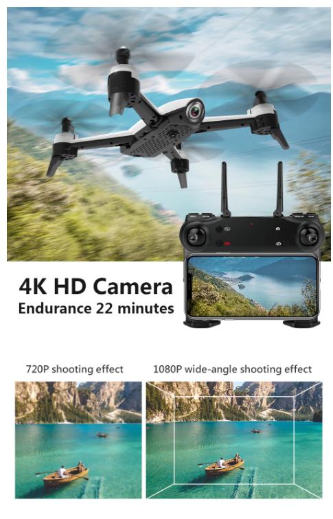 Dubbele 4K Camera Drone